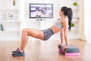 fitness oefeningen thuis zonder gewichten