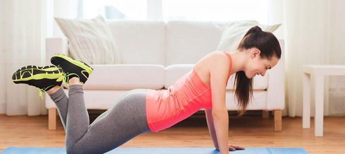 gym oefeningen voor thuis